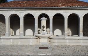 Deuxième fontaine de Levier après restauration